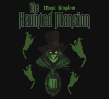 The Haunted Mansion Disney by sweetsisters