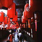 Red Lanterns - Lomo by Yao Liang Chua