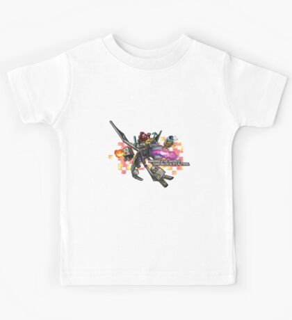 Saving the world one block at a time! Kids Tee
