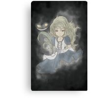 What's wrong Alice? Canvas Print