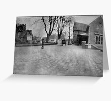 Street view Greeting Card