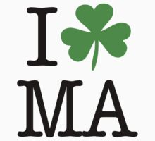 I Love (Shamrock) MA  by saintpaddiesday