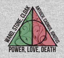 POWER, LOVE, DEATH - Harry Potter by LovelyOwls