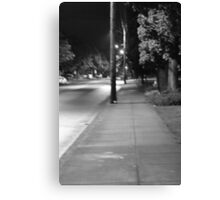 Dark Line Canvas Print