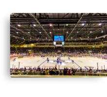 Good 'Ol Hockey Game Canvas Print
