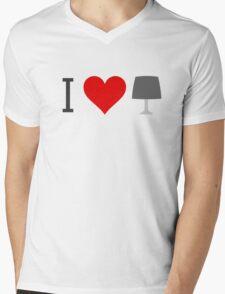 Anchor Man - I love Lamp Mens V-Neck T-Shirt