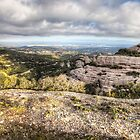 The Views from Montcau's Hillside by Marc Garrido Clotet
