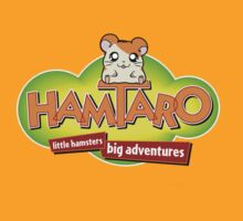 Hamtaro Logo- Little Hamsters Big Adventures by lindseyyo