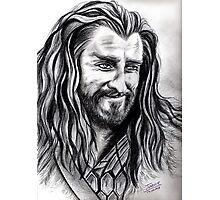 Richard Armitage - Thorin smiling Photographic Print