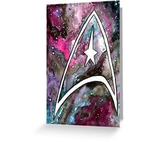 Galaxy Class Greeting Card