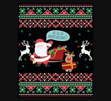 Ugly Christmas- Santa Ugly christmas sweat 3 Long Sleeve T-Shirt