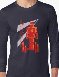 Russian Robot Shirt Long Sleeve T-Shirt