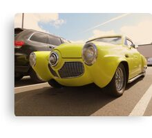 1950-51 Starlight Coupe Studebaker...Shilo Inn Parking Lot...Bend Oregon Canvas Print