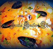 Nova Scotia Seafood Chowder by ©The Creative  Minds