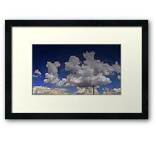 ©HCS Cloudscape Tower V Framed Print