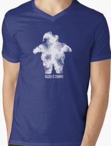 Gozer is Coming Mens V-Neck T-Shirt