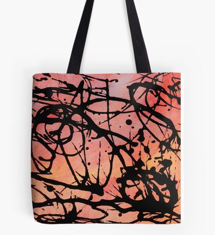 Colour Squiggle Tote Bag