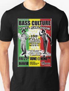 Bass Culture - Vinyl Explosion T-Shirt
