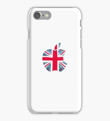 Apple - White (UK) iPhone Case/Skin