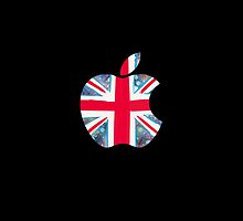 Apple - Black (UK) by creasepegg