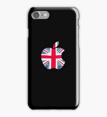 Apple - Black (UK) iPhone Case/Skin