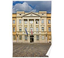 The Parliament of Croatia Facade Poster