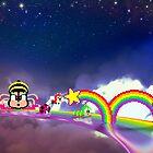 Rainbow Islands retro pixel art by smurfted