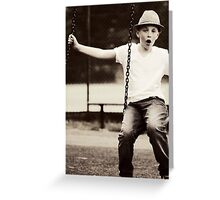 Swing It Greeting Card