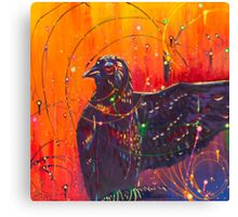 The Universal Crow Canvas Print
