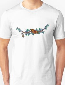 Monarch Butterfly and Cocoon T-Shirt