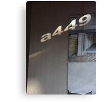 Architect a449 Canvas Print
