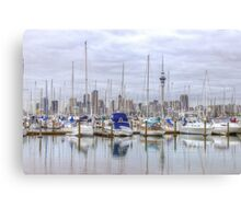 Westhaven Marina (in HDR) Canvas Print