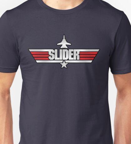 Custom Top Gun Style - Slider Unisex T-Shirt