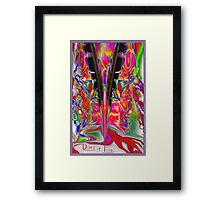 Diary of Iris ............ Framed Print