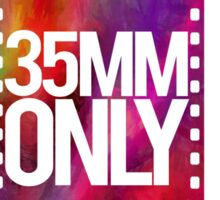 35mm Only! Sticker