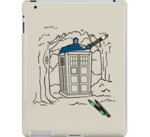 Mad Man with A Box of Crayons iPad Case/Skin