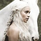 Daenerys Targaryen iPad Case by Tyler Coare