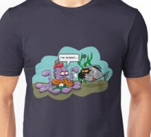 the cold octopus makes a mistake Unisex T-Shirt
