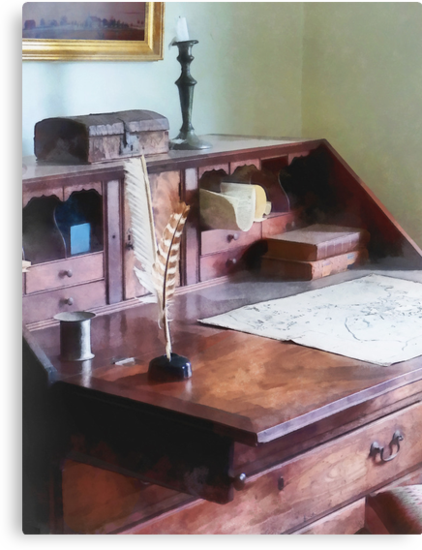 Draftsman - Cartographer's Desk by Susan Savad