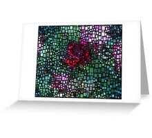 Dazzle Flowers Greeting Card