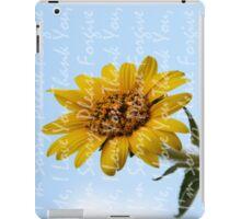 Ho'Oponopono Sunflower iPad Case/Skin