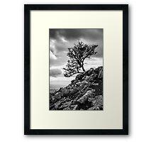 Reach for the Sky, Ingleborough, Yorkshire Dales National Park Framed Print