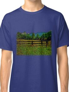 The Old Fence, The Ancient Mountains, and The Wild Field Classic T-Shirt