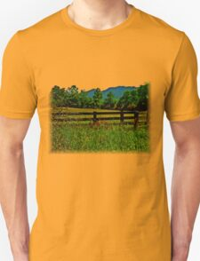 The Old Fence, The Ancient Mountains, and The Wild Field T-Shirt