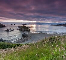 Sunset Crescent City by Richard Thelen
