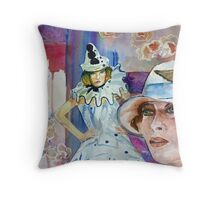 Here Comes The First Act Throw Pillow