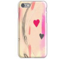Corner of the heart iPhone Case/Skin