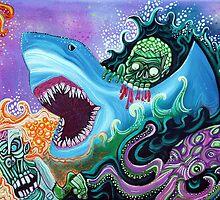 Zombie Handfishin by Laura Barbosa