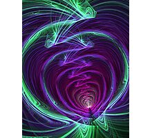 Smoke Signals Vortex Photographic Print