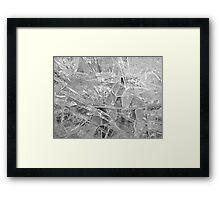 Glass Plains Framed Print